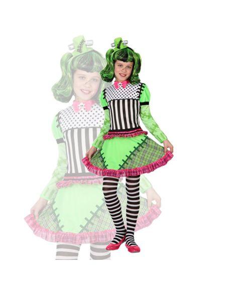 Disfraz Monstruita Frankenstein para niña Tienda de disfraces online - venta disfraces