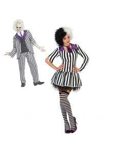 Disfraz de Fantasma a rayas para mujer Tienda de disfraces online - venta disfraces