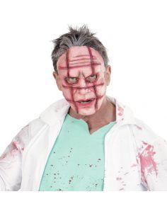 Máscara Mitad Cara con cicatriz