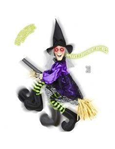 Bruja Voladora Parlante para Halloween Tienda de disfraces online - venta disfraces