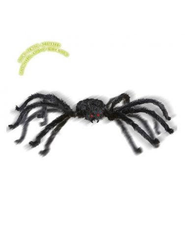 Araña Gigante con ojos luminosos para Halloween Tienda de disfraces online - venta disfraces