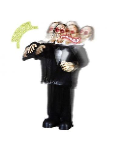 Esposo Zombie Animado con cabeza para Halloween Tienda de disfraces online - venta disfraces