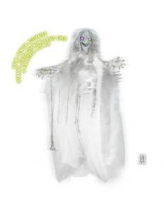 Bruja Animada que gira con ojos luminosos para Halloween Tienda de disfraces online - venta disfraces
