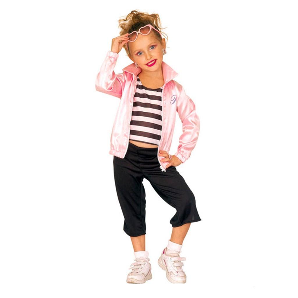 Disfraz de Pink Ladies Grease infantil  1116f87fdb328