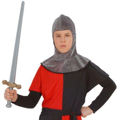 Capucha Guerrero Medieval Infantil Tienda de disfraces online - venta disfraces