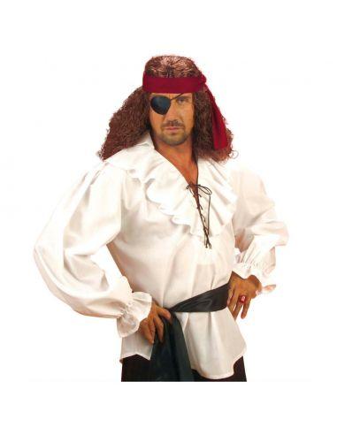 Camisa de Pirata en Blanco Tienda de disfraces online - venta disfraces