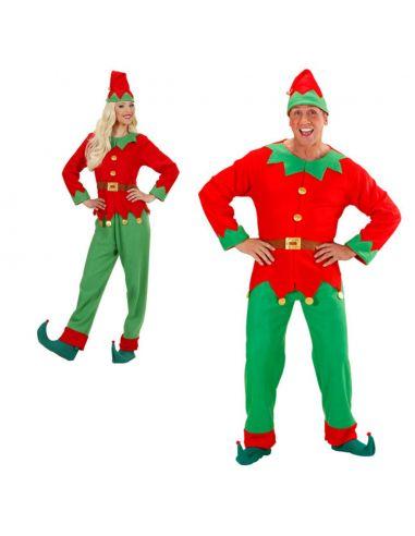Disfraz Elfo hombre ayudante de papa Noel Talla XL Tienda de disfraces online - venta disfraces