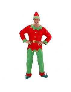 Disfraz Elfo hombre ayudante de papa Noel Talla XL
