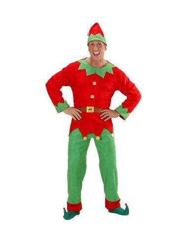 Disfraz Elfo hombre ayudante de papa Noel