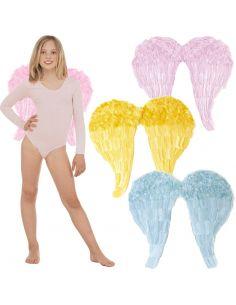 Alas Plumas Colores 50x45 cm. Tienda de disfraces online - venta disfraces