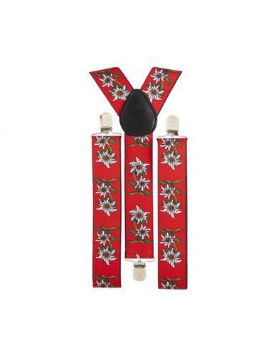 Tirantes Tirolés Edelweiss Tienda de disfraces online - venta disfraces