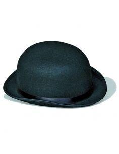 Bombín Negro de Fieltro adulto Tienda de disfraces online - venta disfraces
