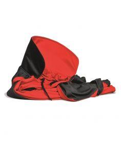 Capa de Tela Roja y Negra Reversible Tienda de disfraces online - venta disfraces