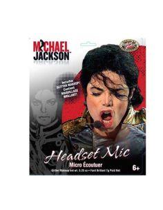 Set Micrófono y auricular de Michael Jackson Tienda de disfraces online - venta disfraces