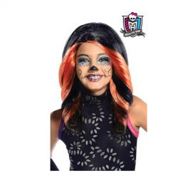 Peluca Skelita Calaveras Monster High Infantil