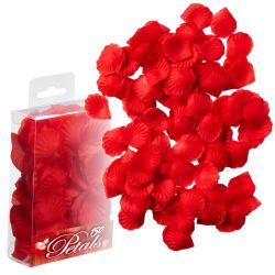 Decoración pétalos de rosa Rojos