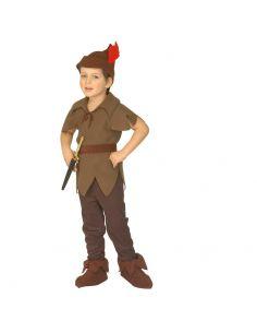 Disfraz Elfo Marrón infantil
