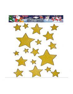 Pegatinas Navidad Estrellas oro Tienda de disfraces online - venta disfraces