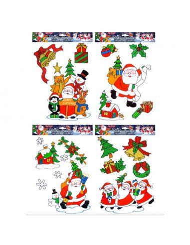 Imagenes De Papa Noel De Navidad.Pegatinas Navidad Papa Noel