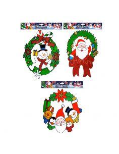 Pegatinas Coronas Navidad Tienda de disfraces online - venta disfraces