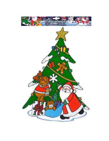 Pegatina Árbol Navidad Tienda de disfraces online - venta disfraces
