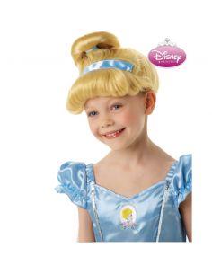 Peluca Cenicienta infantil Tienda de disfraces online - venta disfraces