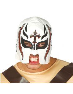 Mascara Lucha Libre Blanca