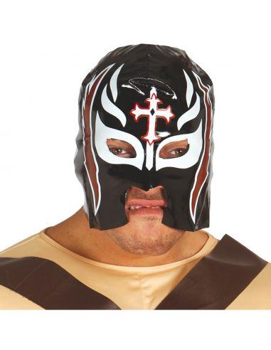 Mascara Lucha Libre Negra Tienda de disfraces online - venta disfraces