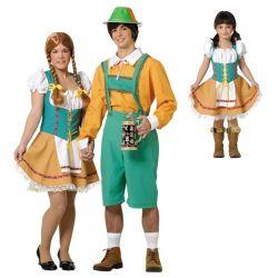 Disfraz de Tirolesa Adulta