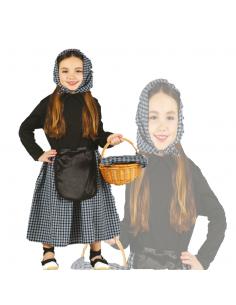 Disfraz de Castañera Infantil Tienda de disfraces online - venta disfraces