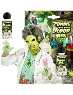 Gel Sangre Verde Toxica Tienda de disfraces online - venta disfraces