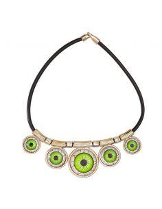 Collar de Ojos Verdes Tienda de disfraces online - venta disfraces