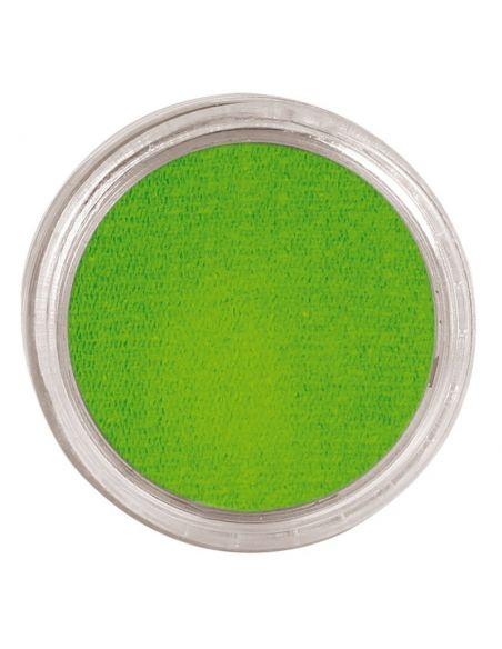Maquillaje Verde con base Agua