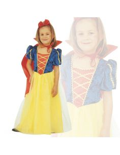 Disfraz de Princesa Blanca Nieves infantil