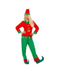 Disfraz Elfo mujer ayudante de papa Noel