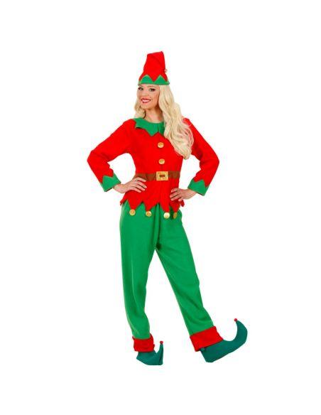 Disfraz Elfo mujer ayudante de papa Noel Tienda de disfraces online - venta disfraces