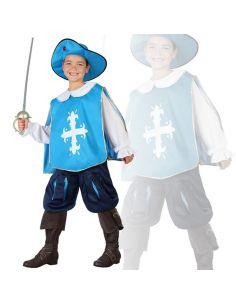 Disfraz Mosquetero Azul Infantil Niño Tienda de disfraces online - venta disfraces