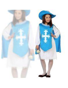 Disfraz Mosquetera Azul Infantil Niña Tienda de disfraces online - venta disfraces