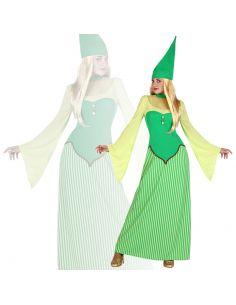 Disfraz Duende Verde para Chica