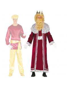 Disfraz Rey Mago Granate Tienda de disfraces online - venta disfraces