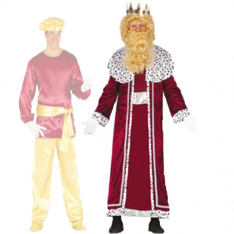Disfraz Rey Mago Granate