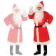 Disfraz Abrigo de Papa Noel