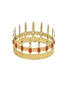 Corona Rey Metalizada Tienda de disfraces online - venta disfraces