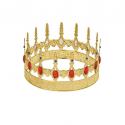 Corona Rey Metalizada