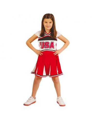 Disfraz Animadora USA Infantil Tienda de disfraces online - venta disfraces