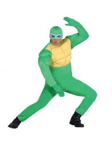 Disfraz Tortuga Guerrero Verde Adulto Tienda de disfraces online - venta disfraces