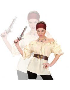 Camisa de Pirata en Beige Tienda de disfraces online - venta disfraces