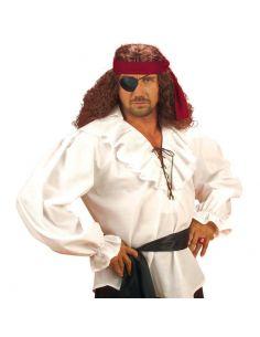 Camisa de Pirata en Blanco Talla XL Tienda de disfraces online - venta disfraces