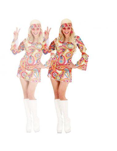 Disfraz de Mujer Años 70 Talla XL Tienda de disfraces online - venta disfraces