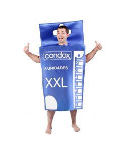 Disfraz Cajita Condón para adulto Tienda de disfraces online - venta disfraces